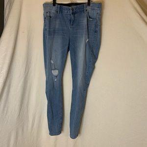 TORRID Bombshell Skinny Jeans - Size 18 T